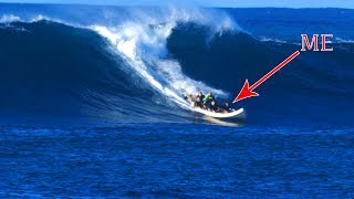 trying-to-survive-hawaii-shark-diving-monster-waves