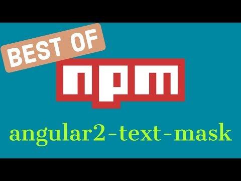 Angular 2 Input Mask - YouTube