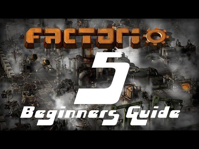 Factorio Beginners Guide