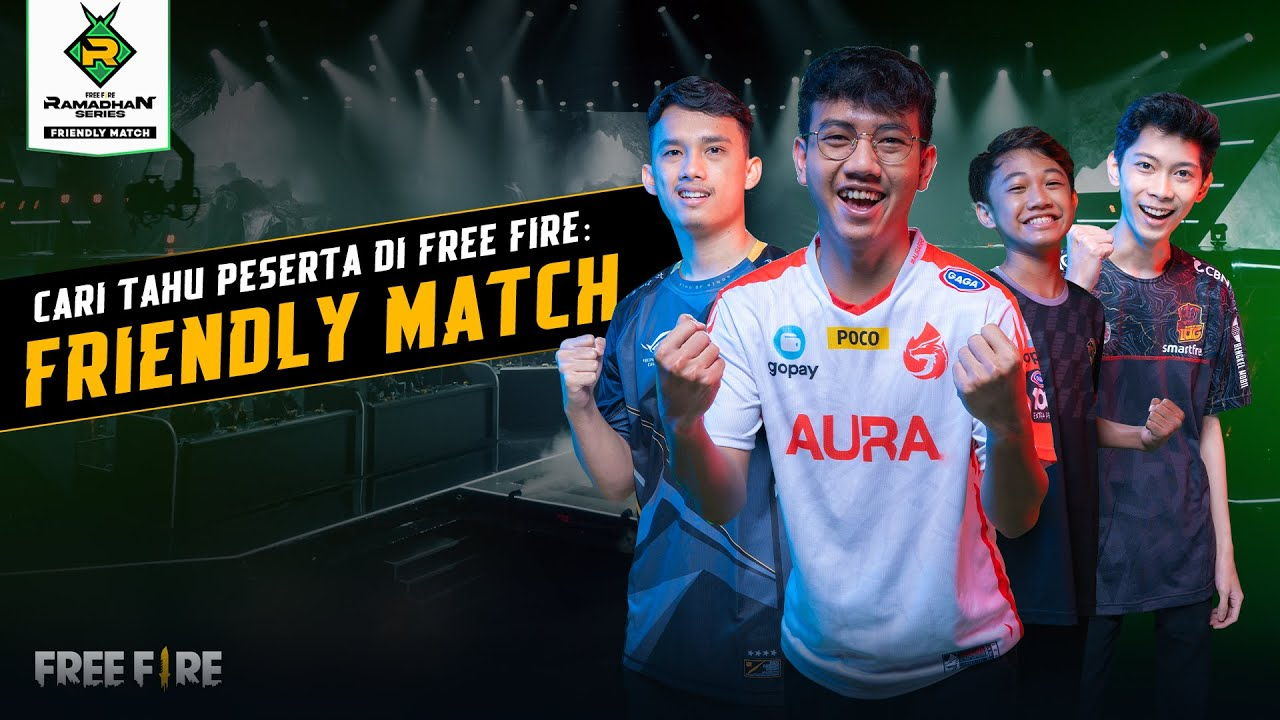Cari Tahu Peserta Free Fire Friendly Match