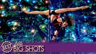 Little Big Shots | Ukrainian Girl Emili Moskalenko's Sensational Pole Dancing Performance