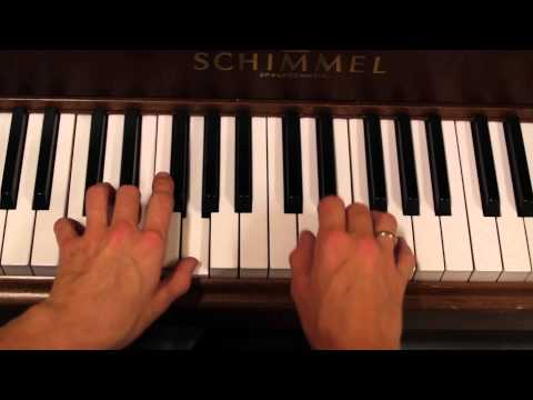 Bro bro brille - Enkle akkorder (piano)