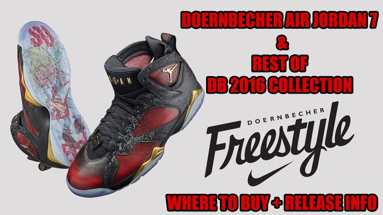 aa20a104f672 Where to Buy the Doernbecher Air Jordan 7