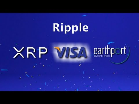 The IMTC Announces VISA Working With Ripple on Payments Through EarthPort. XRP Longs