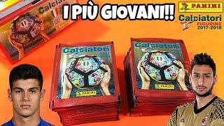 CHI TROVA I PIÙ GIOVANI VINCE!!👶 Calciatori Panini 2017-18 Challenge
