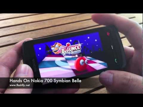 Hands on Nokia 700 Symbian Belle
