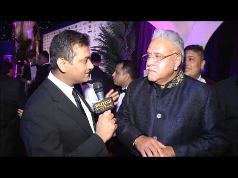 Vijay Mallya - Interviewed by Naveed Mahbub, Red Carpets, British Curry Awards 2014