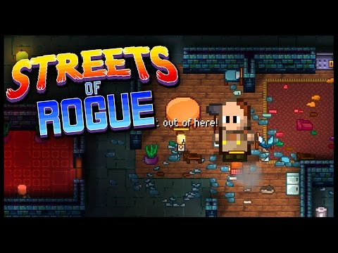 Streets of Rogue - RESIST & KILL EVERYTHING! - Let's Play Streets of Rogue Gameplay - New Game!