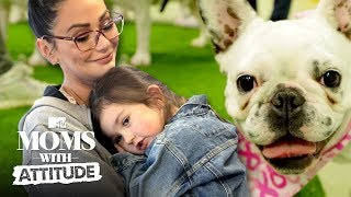 Snooki & JWoww Host A Puppy Party 🐶 | Moms with Attitude | MTV