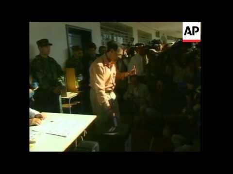 ECUADOR: VOTING BEGINS IN PRESIDENTIAL ELECTIONS