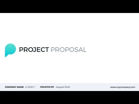 Project Proposal Powerpoint Template On Graphicriver Youtube
