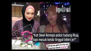 """Kat TV Bertudung Litup, Masuk Kelab Pakai B*k*ni Je?"" - Ernisha Pula Tumpuan Seranah Netizen"