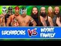 Lucha Dragons & Rey Mysterio & Gran Metalik vs. Wyatt Family   Wrestlemania 8 Man Tag Team Match