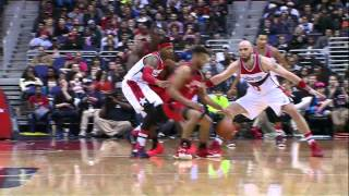 Raptors Highlights: Joseph Breaks Ankles - November 28, 2015