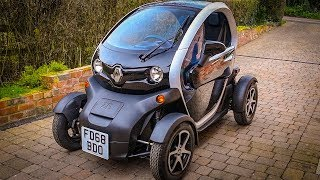 I bought a Renault Twizy! | First Driving Reaction Video | Living With