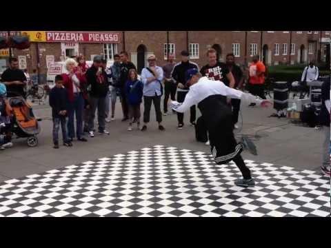 Break dance demo Malmö