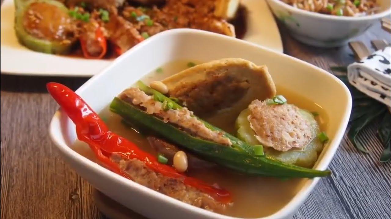 Traditional Hakka Yong Tau Foo Soup Dry Recipe 祖传客家酿豆腐