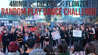 Gambar cover [KPOP IN PUBLIC] 4MINIA ✕ THE ONE ✕ FLOWZER  Random Play Dance Challenge in 🇹🇼 XIMEN, Taiwan