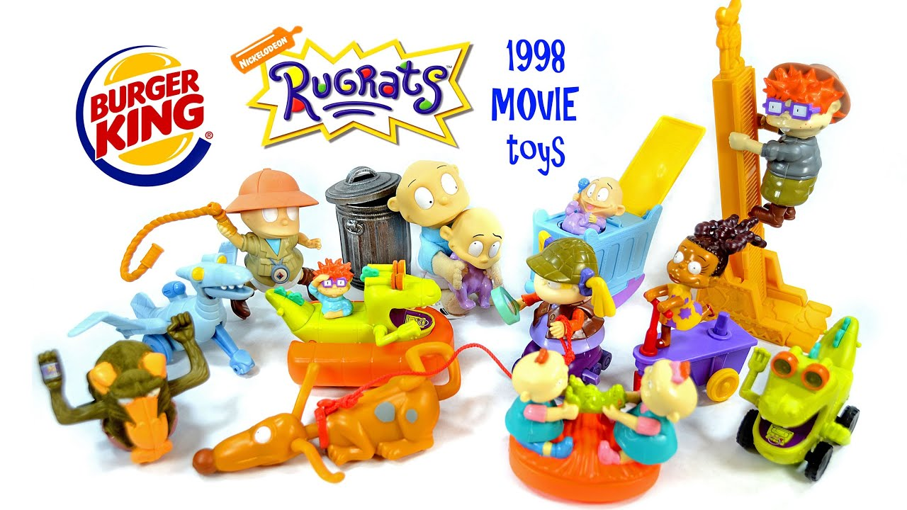 Building Toys From The 90s : The rugrats movie burger king kid s toys