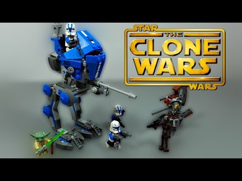 LEGO Star Wars The Clone Wars - 501st AT-RT Walker (75002) - Review