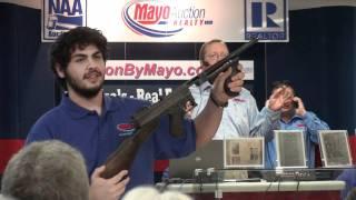 Bonnie & Clyde's weapons.....actual auction