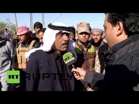 Iraq: Barwana residents celebrate defeating IS