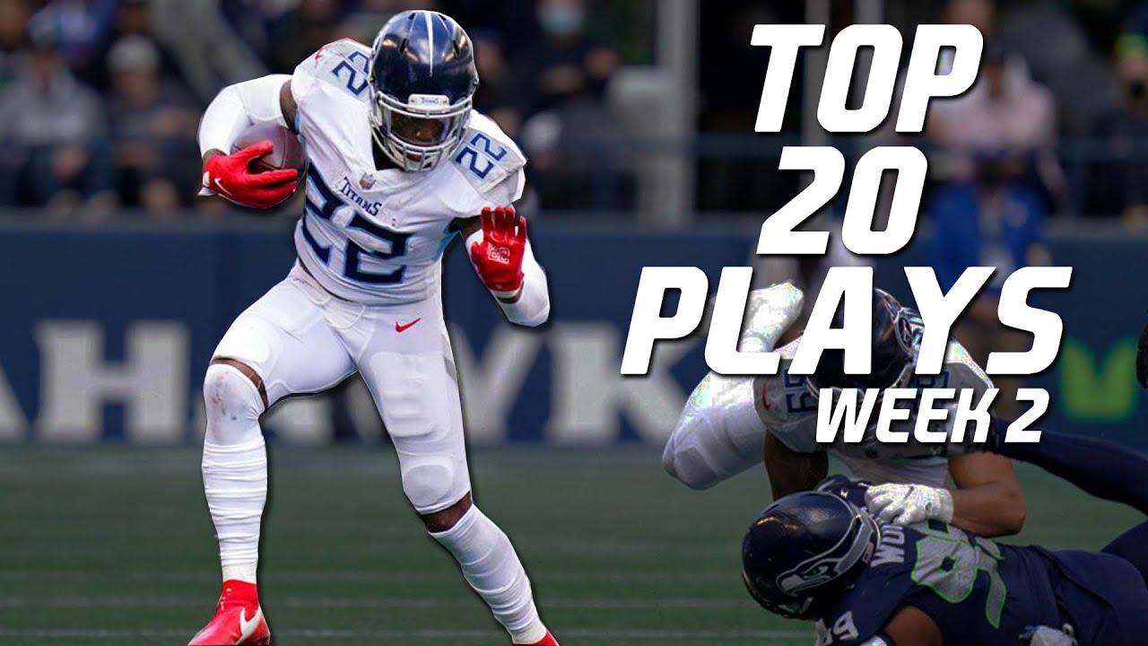 NFL Top 20 Plays of Week 2 | 2021-22 ᴴᴰ