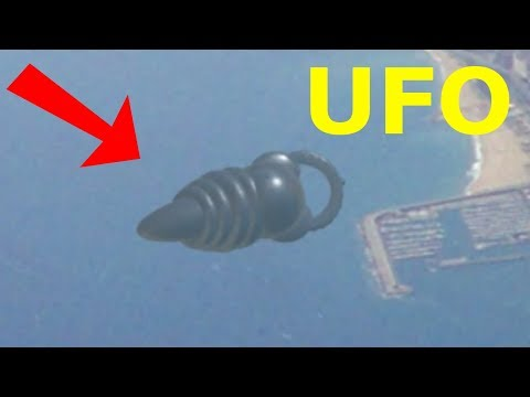 UFO ALIEN CRAFT CAPTURED FROM AIRPLANE WINDOW! 15th April 2018!