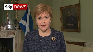 Nicola Sturgeon urges Parliament to force out Boris Johnson