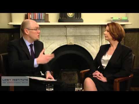 In Conversation: The Hon Julia Gillard MP, Prime Minister of Australia Australia