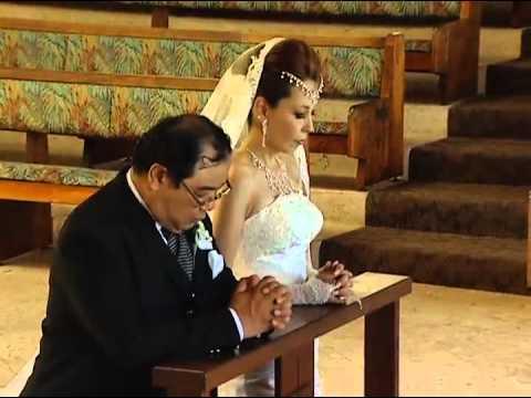 GLAY ずっと2人で オアフ・キャルバリー教会結婚式