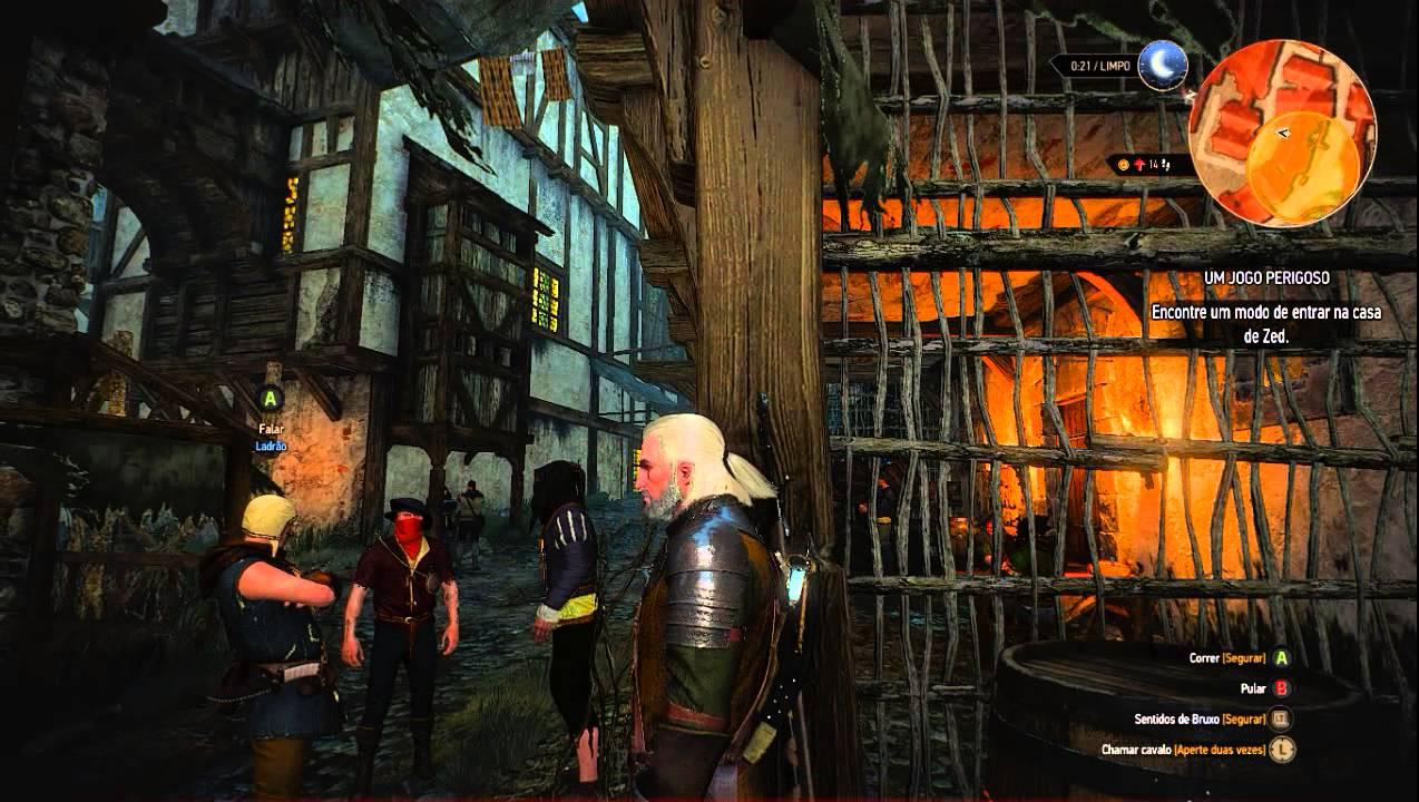 The Witcher 3 Um Jogo Perigoso Parte 1 Youtube