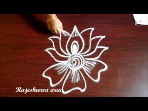 Beginners Muggulu Simple Rangoli Designs Without Dots Easy Small