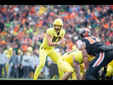 Oregon Ducks Vs Oregon State Beavers Civil War Football Highlights 2018
