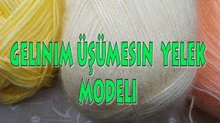 GELİN Kızlar Gelinim üşümesin Yelek Modeli Yazlık ÇEYİZLİK ÖRGÜ Tığ Işi Gelin Yelek örneği