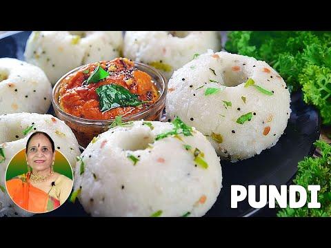 कम तेल में बनाएं दक्षिणी भारत का यह #healthybreakfast और साथ लहसुन की चटनी | Pundi | Rice Balls