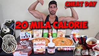 20K CALORIES CHALLENGE - MAN VS FOOD