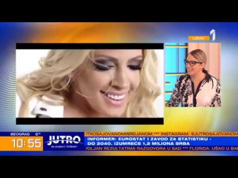 Milica Todorović - Jutro sa Jovanom i Srđanom (Tv Prva 2019)