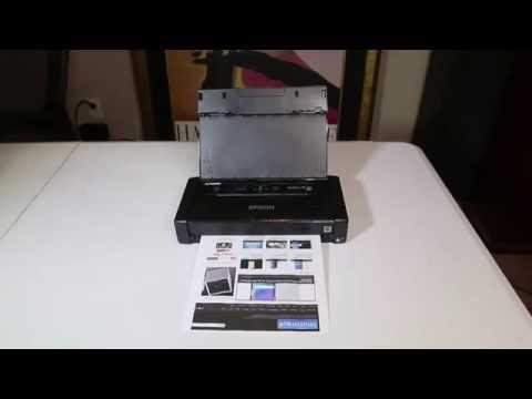 Epson WorkForce WF-100 Mobile Printer Unboxing Review @Epson @EpsonAmerica