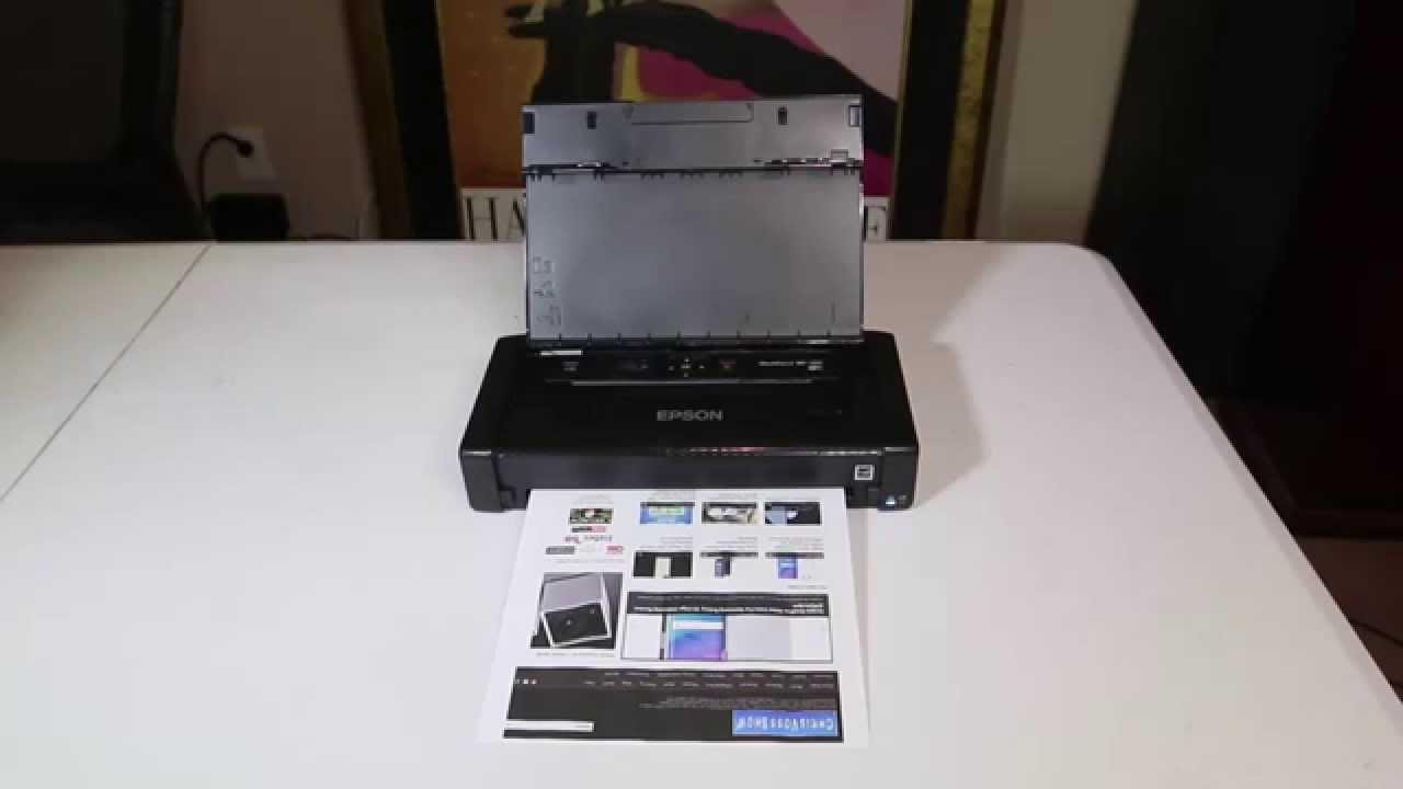 Epson WorkForce WF-100 Inkjet Printer Color