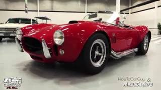 1967 Shelby Cobra - History & Review of chassis CSX3302