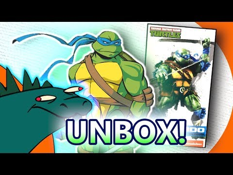 TMNT Leonardo Dream EX Ninja Turtles UNBOXING!