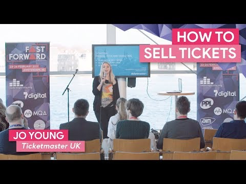 """""""How Ticketing Works"""" with Jo Young, Ticketmaster 