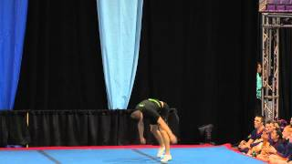 University of Regina Cheerleading - PCA UONCC 2013 - Male Tumble Comp - Colin