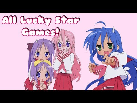 All Lucky Star Games! (PS2, Nintendo DS, PSP) |SailorGuardianHope|