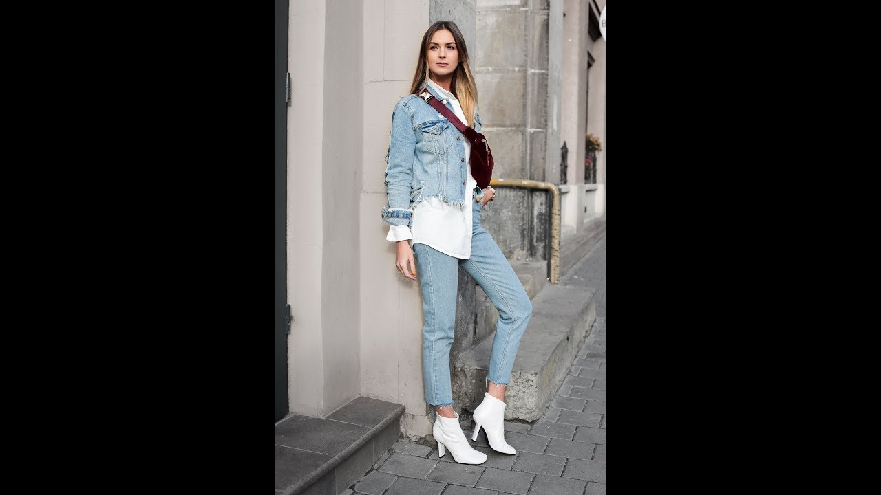 [VIDEO] – Cute outfits with jeans to transition into spring