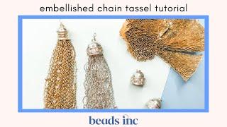 Embellished Chain Tassel Tutorial