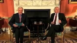 Barnier warns UK of