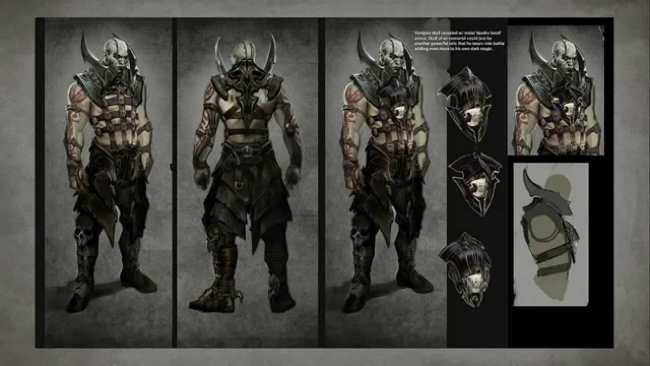 Mortal Kombat X: Quan Chi Concept Art by ReaayZ