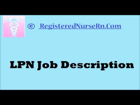 LPN Job Description
